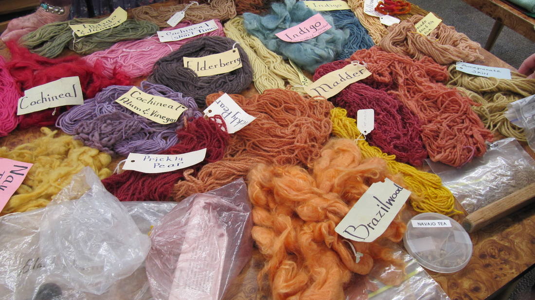 Natural Dyes - Palo Duro Handweavers Guild